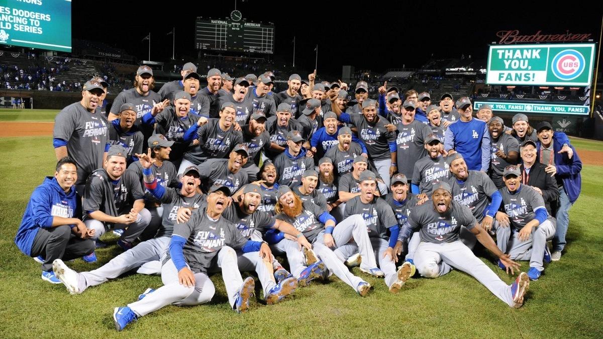 Los Angeles LA Dodgers WIn Totals Total MLB World Series Hangover