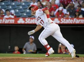 The AL MVP race could come down to Mike Trout vs. the field, with the Angels superstar looking to rebound from a slightly down year in 2020. (Image: Mark J. Terrill/AP)