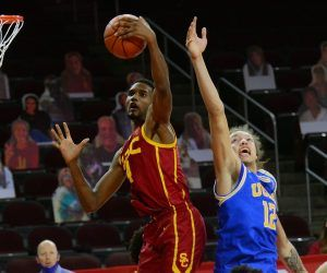 Evan Mobley USC UCLA Pac-12 Conference basketball odds
