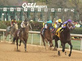 For the second consecutive weekend, Oaklawn Park canceled its weekend racing card due to inclement weather forecasts. (Image: Richard Rasmussen/The Sentinel-Record