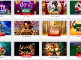 The UKGC announced new rules and regulations for online slot machines, which make up the majority of games at casino websites. (Image: Bovada.lv)