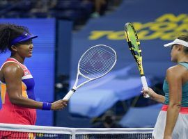 Naomi Osaka (left) will face off against Jennifer Brady (right) in the finals of the 2020 Australian Open. (Image: Seth Wenig/AP)