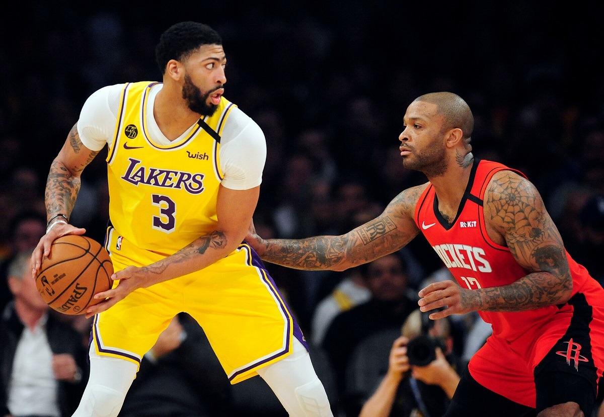 LA Lakers Trade Rumor Mo Bomba PJ Tucker Los Angeles Houston Rockets Orlando Magic