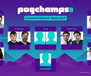 PogChamps 3 semifinals bracket