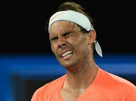 Rafael Nadal exited the Australian Open after losing a two-set lead to Stefanos Tsitsipas in their quarterfinal match. (Image: Reuters)