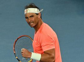 Rafael Nadal comes in as a favorite over Stefanos Tsitsipas in their Australian Open quarterfinal matchup. (Image: Getty)