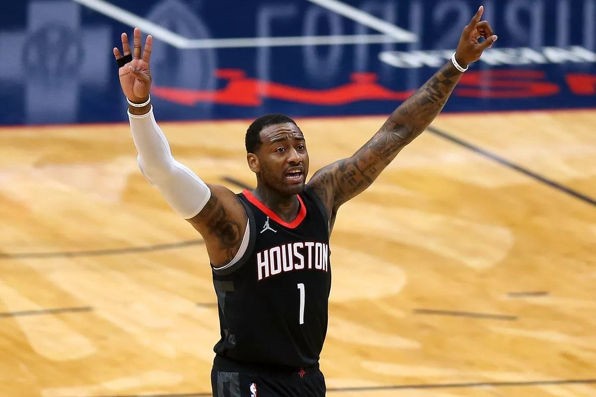 Houston Rockets winning streak NBA hot teams John Wall