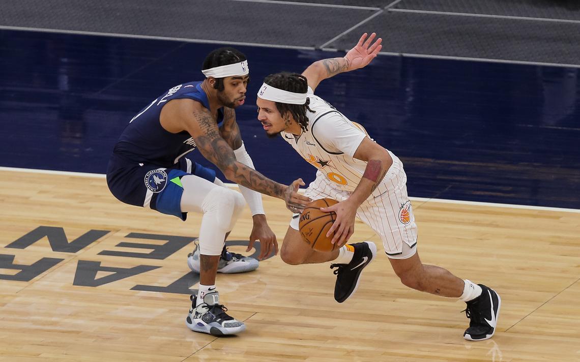 D'Angelo Russell Cole Anthony NBA Injury Report Minnesota Timberwolves Orlando Magic