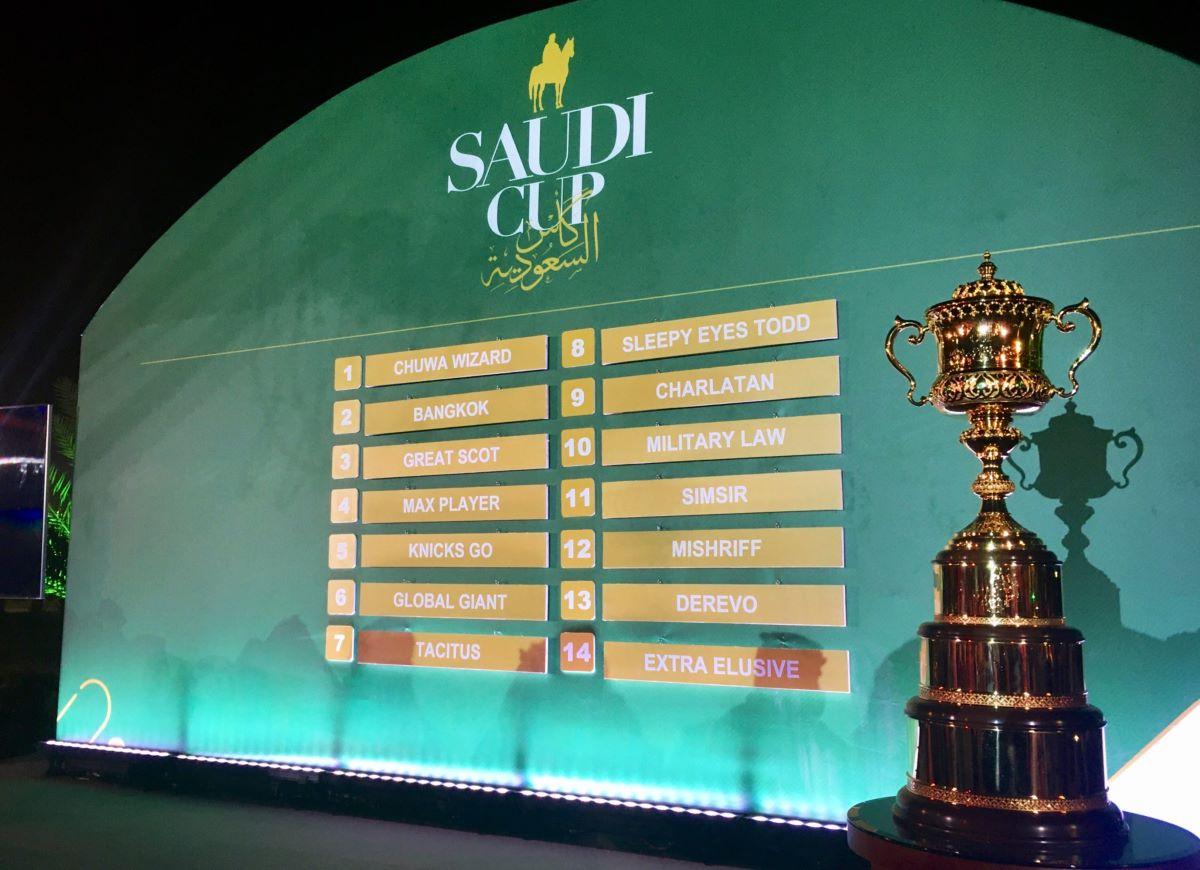 Saudi Cup Draw