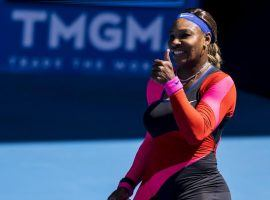Serena Williams will take on Simona Halep in one of four Australian Open quarterfinal matches on Tuesday. (Image: Getty)
