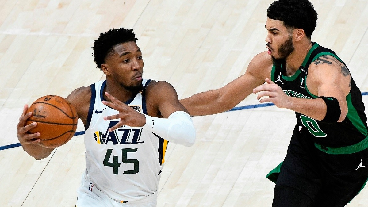Donivan Mitchell Utah Jazz NBA Futures Odds Championship Philadelphia 76ers Sixers
