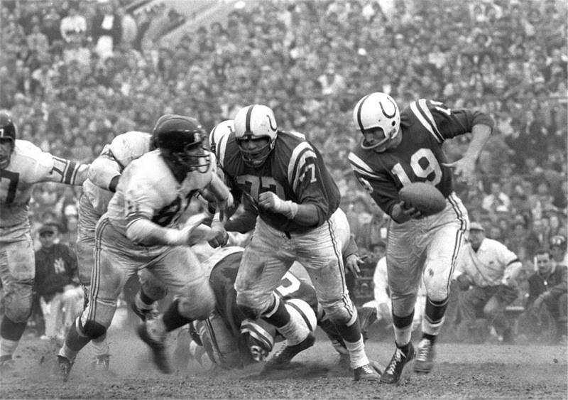NFL Johnny Unitas Baltimore Colts QB