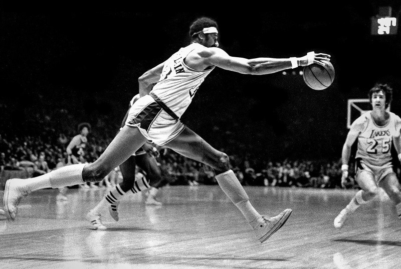 Wilt Chamberlin NBA LA Lakers Wilt the Stilt 100 points