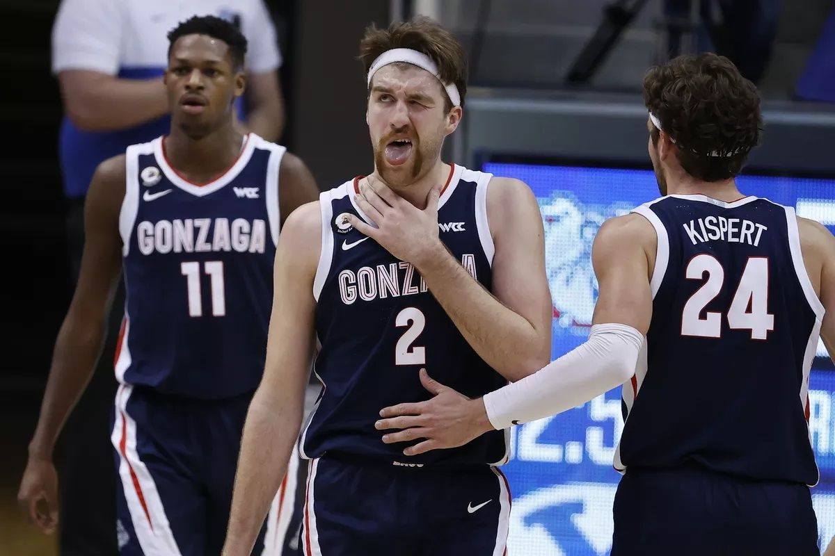 March Madness Early Reveal #1 Seed Michigan Ohio State Baylor Gonzaga
