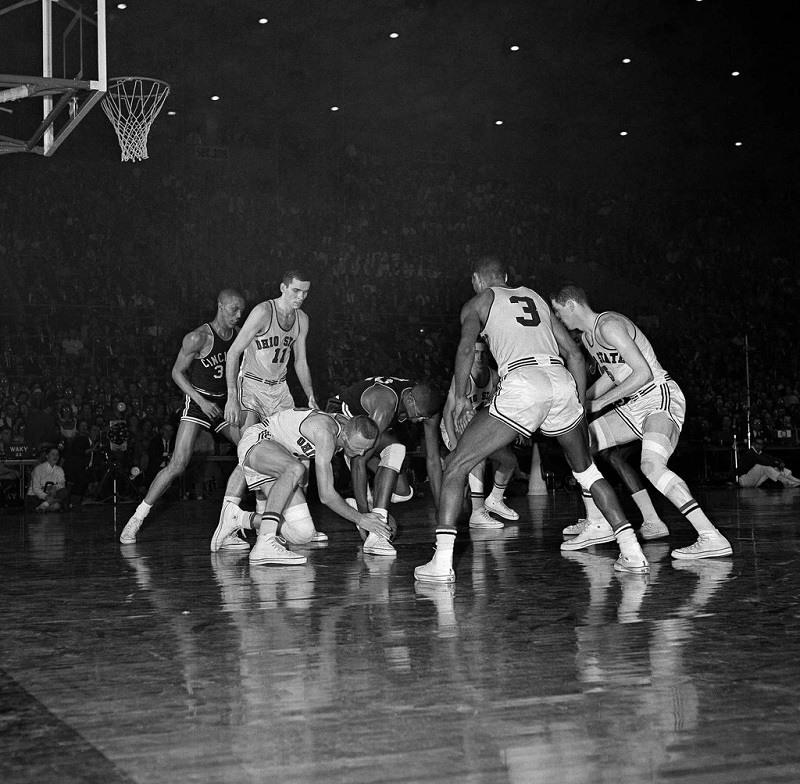 1962 Cincinnati Ohio State March Madness championship game