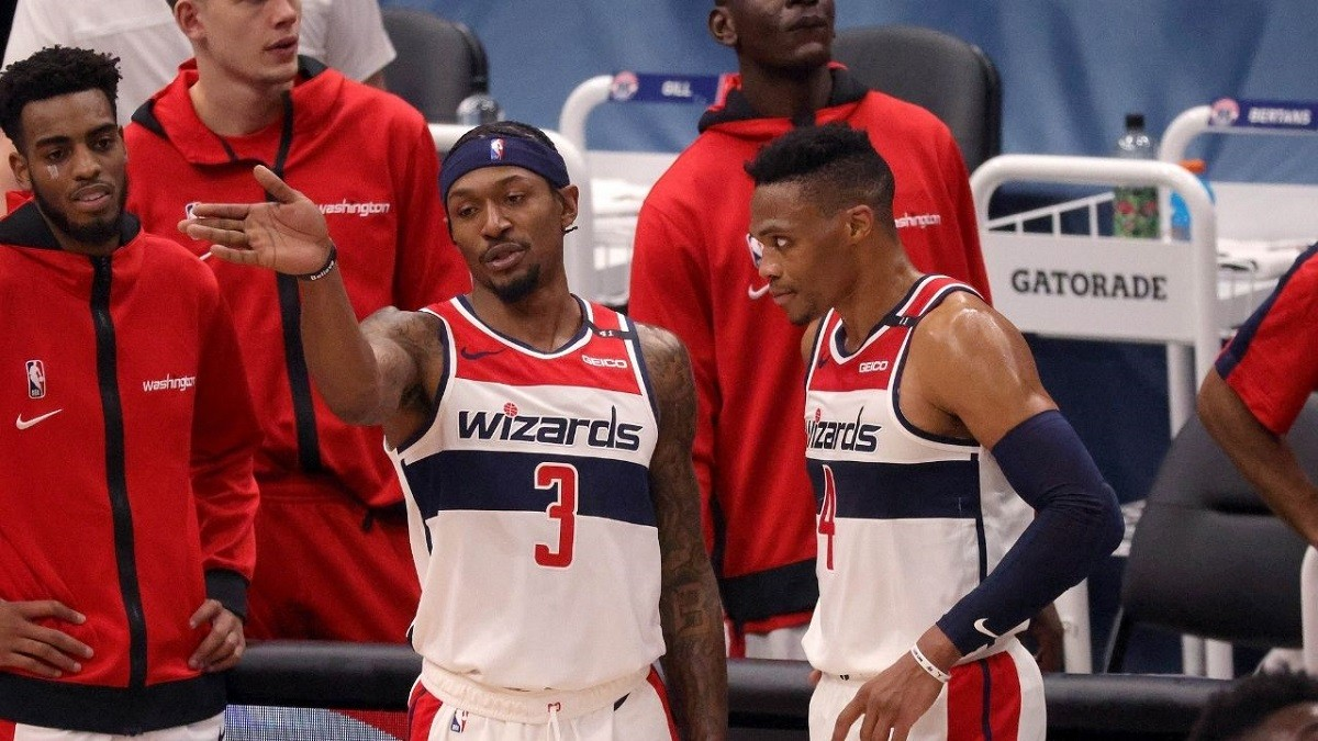 Washington Wizards memenangkan pukulan beruntun Bradley Beal Russell Westbrook