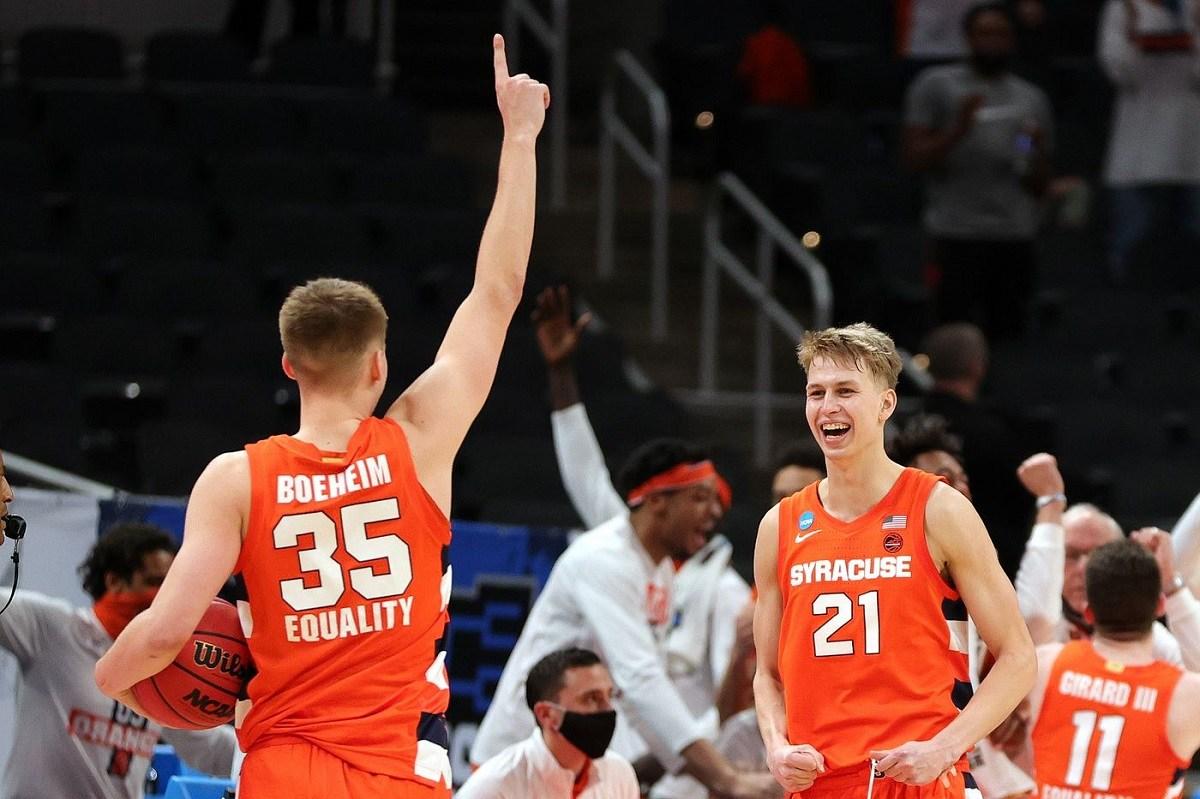 Syracuse Madness Sweet 16 Long Shots Odds Loyola Chicago Oregon State