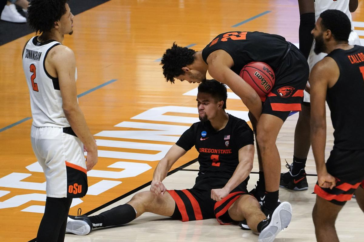 Oregon State Beavers #12 Seed Upset Oklahoma State Tennessee March Madness