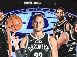Blake Griffin joins the Brooklyn Nets to help Kevin Durant, Kyrie Irving, and James Harden win an NBA title. (Image: Clutch Points)