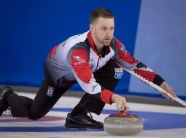 Brad Gushue and Team Canada come into the 2021 Tim Hortons Brier as the favorites to win a second straight title. (Image: Jonathan Hayward/Canadian Press)