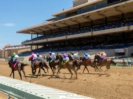 Del Mar likely will open 2021 like it opened 2020 here -- without fans in the stands. But the San Diego-area seaside track plans to sell tickets for its 2021 summer meet. (Image: Benoit Photo)