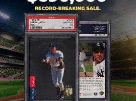 Some believe a Gem Mint Jeter SP rookie card could top $1 million at auction. (Image: PWCC)