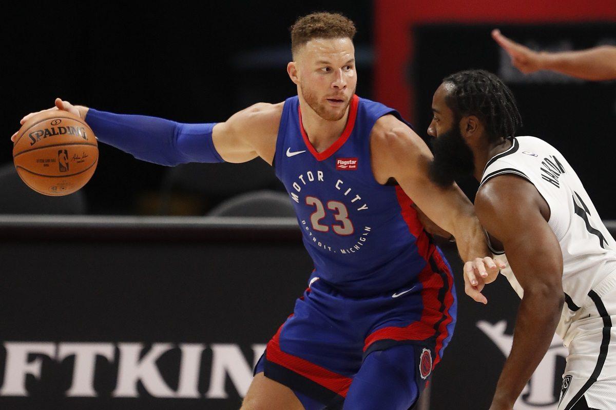 Blake Griffin Detroit Pistons free agent Miami Heat Brooklyn Nets Portland Trail Blazers Golden State Warriors