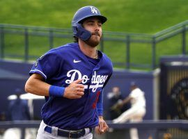 The Los Angeles Dodgers come into the 2021 season as the defending World Series champions and the clear favorites in the NL West. (Image: Rick Scuteri/USA Today Sports)
