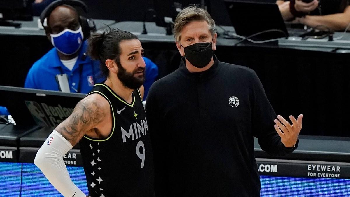 Chris Finch Ricky Rubio Minnesota Timberwolves kalah telak dari Houston Rockets