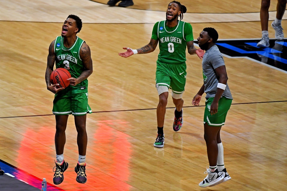 Javion Hamlet North Texas Mean Green Upset March Madness # 13 Seed