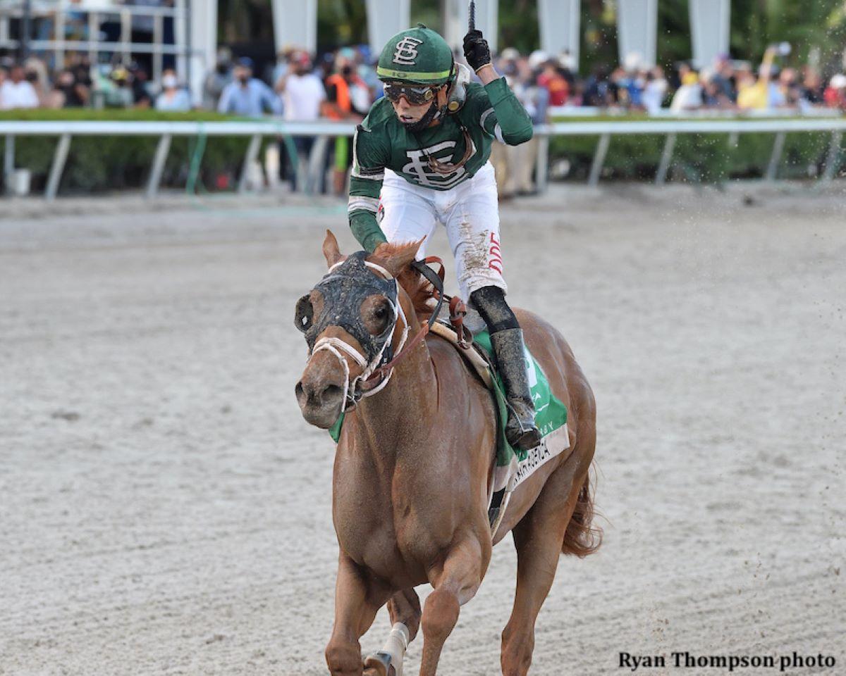 Irad Ortiz breaks Gulfstream title