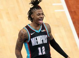 Ja Morant of the Memphis Grizzlies are on the playoff bubble in the Western Conference, but have two tough games against the NBA's best team the Utah Jazz. (Image: Bill Carlisle)
