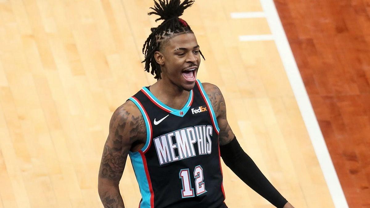 Ja Morant Memphis Grizzlies Utah Jazz Milwakee Bucks Miami Heat