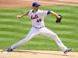 Mets ace Jacob deGrom comes into 2021 as the favorite to win the NL Cy Young Award. (Image: Steven Ryan/Getty)
