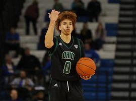 Jason Preston from the Ohio Bobcats could play the role of Cinderella as a #13 seed. (Image: AP)