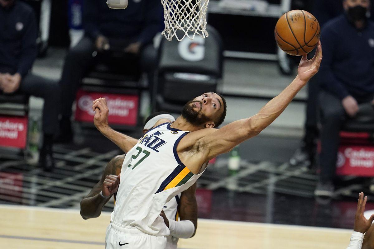 NBA DPOY Best Defender Defensive Player Year Rudy Gobert Myles Turner Ben Simmons