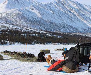 Peter Kaiser 2021 Iditarod Mille Porsild Ghost Town