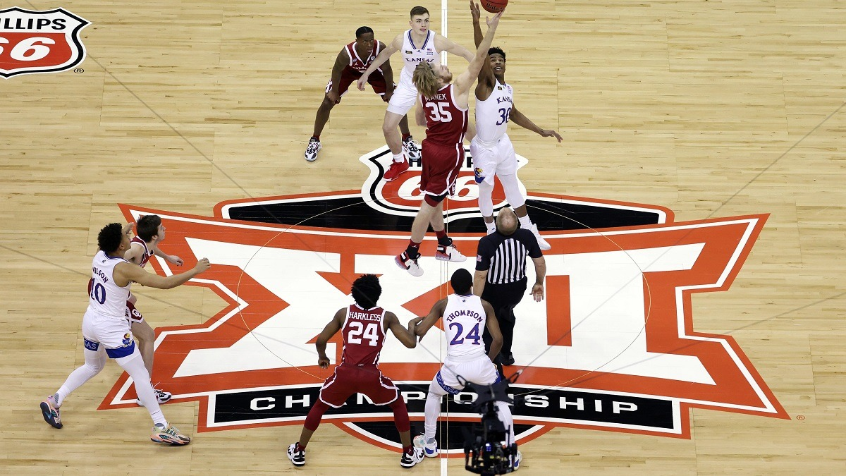 Kansas Big 12 Tournament Out COVID-19 Withdraw Positive Test
