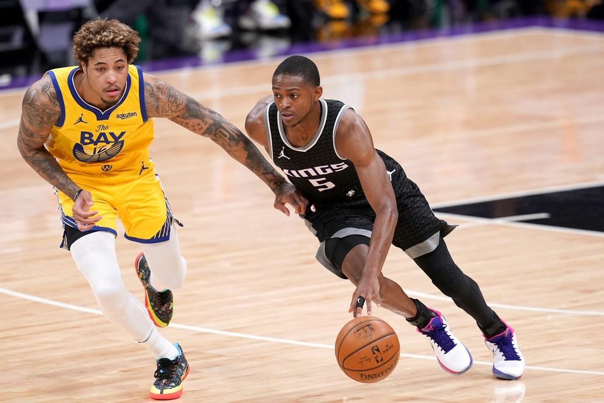De'Aaron Fox 44 points Sacramento Kings hot heater