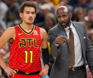 Atlanta Hawks Trae Young Lloyd Pierce fired head coach Nate McMillan
