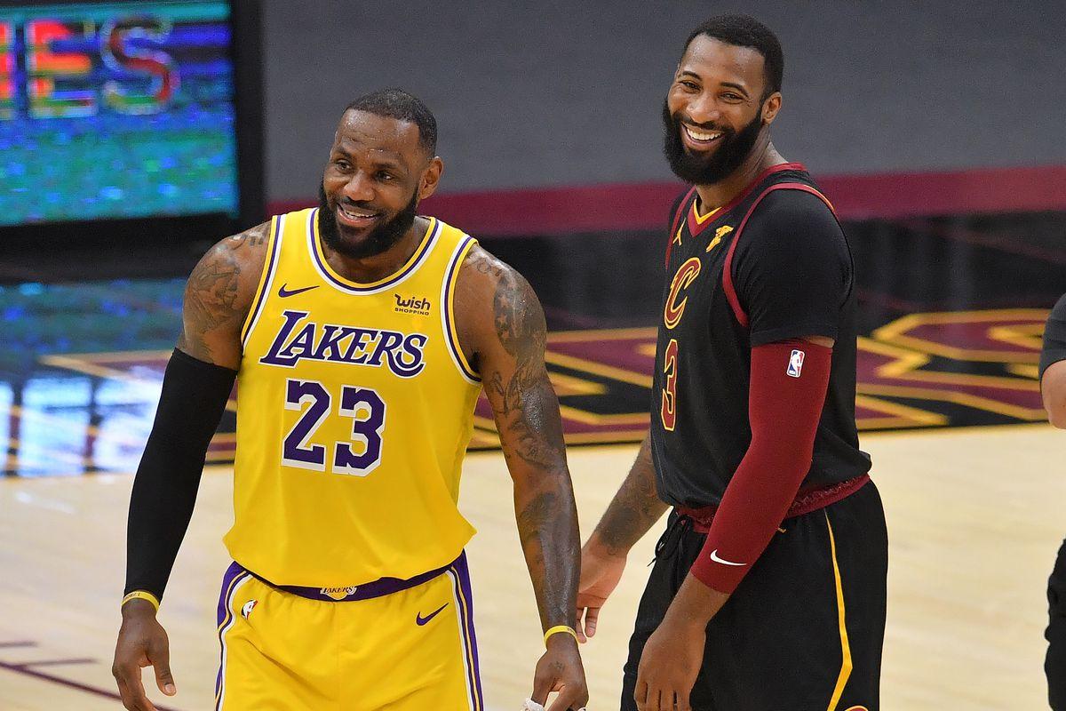 LeBron James Andre Drummond LA Lakers