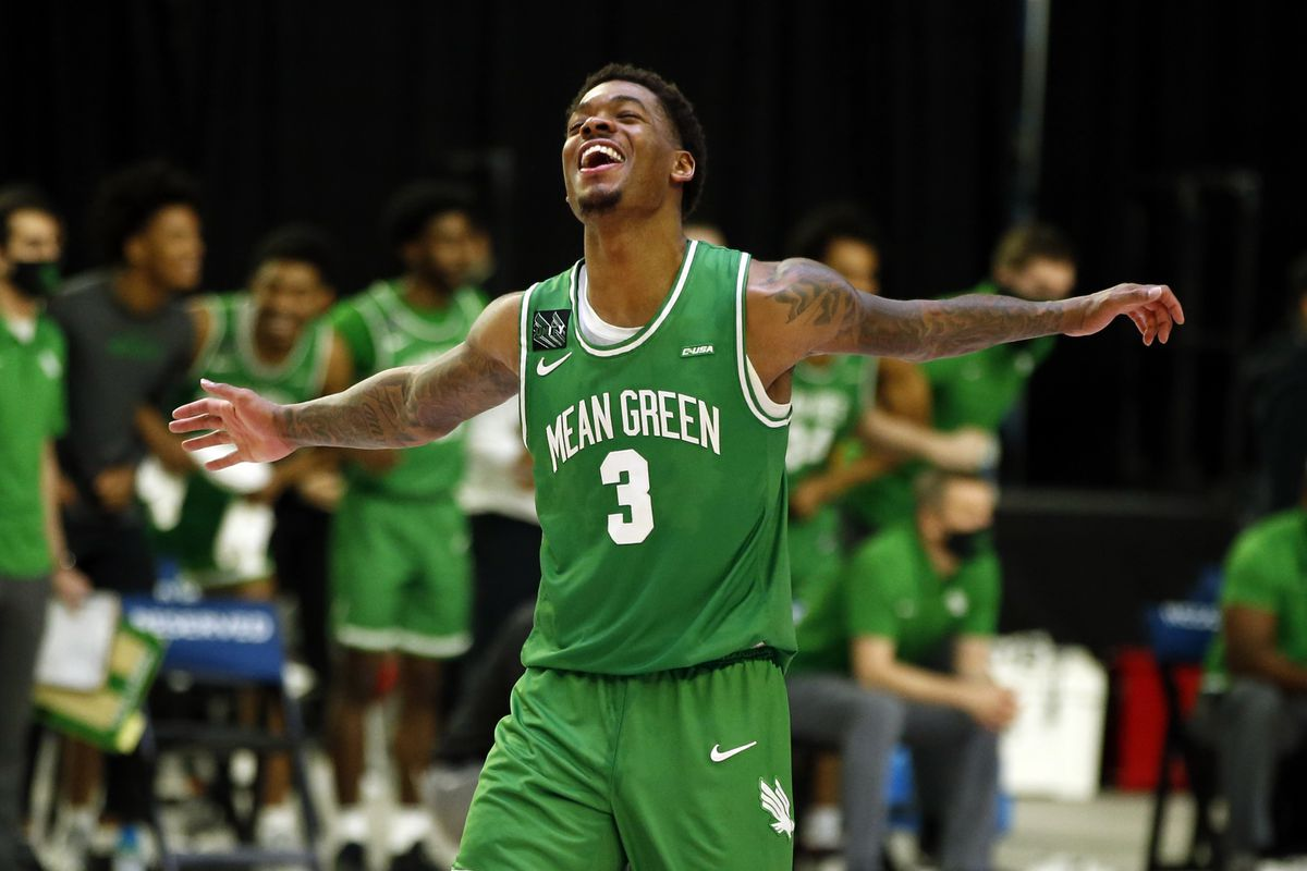 March Madness 13 Seed # 13 North Texas Purdue Liberty Oklahoma State Javion Hamlet
