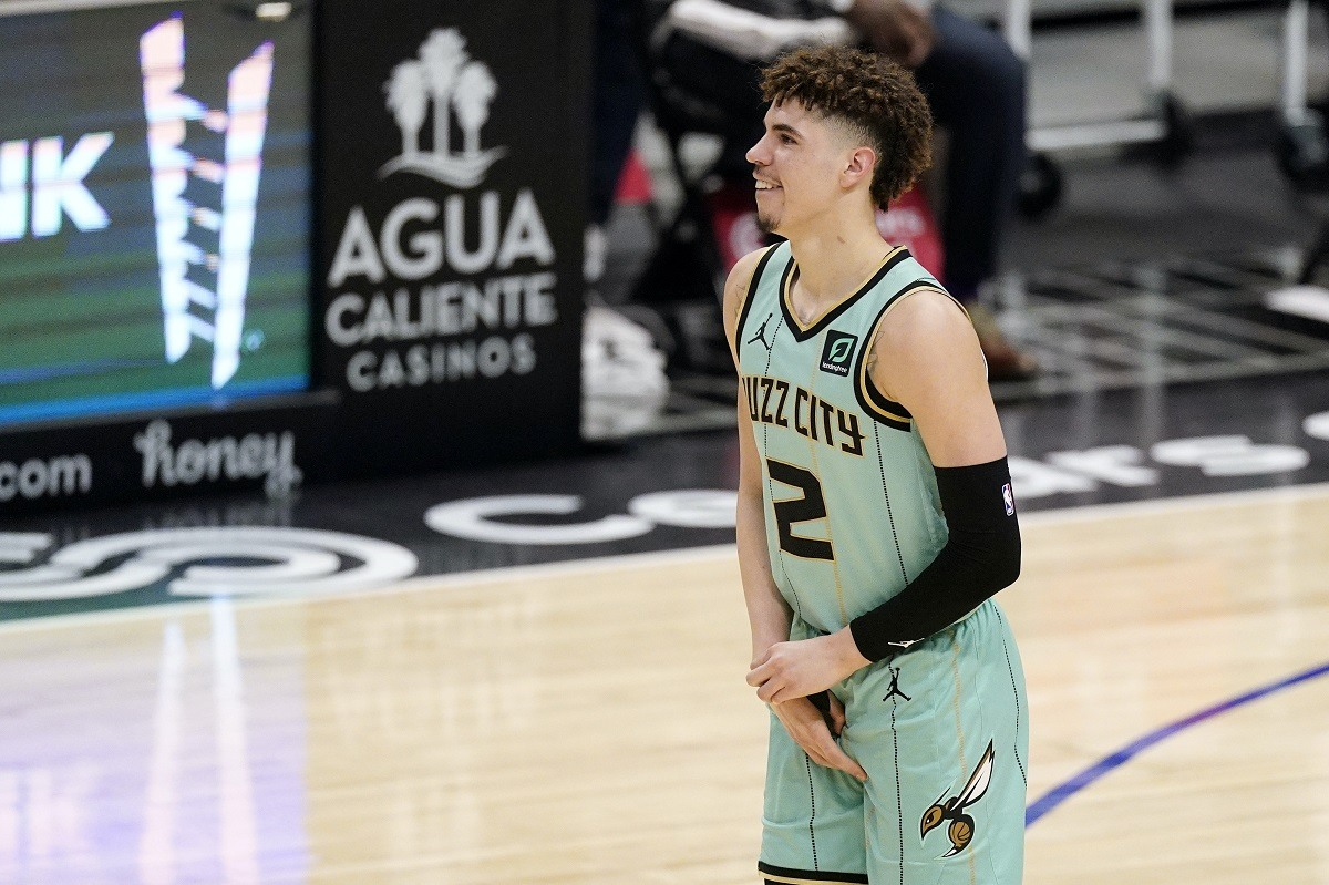 LaMelo Ball rookie wrist injury Charlotte Hornets out season