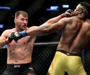 Miocic Ngannou odds UFC 260
