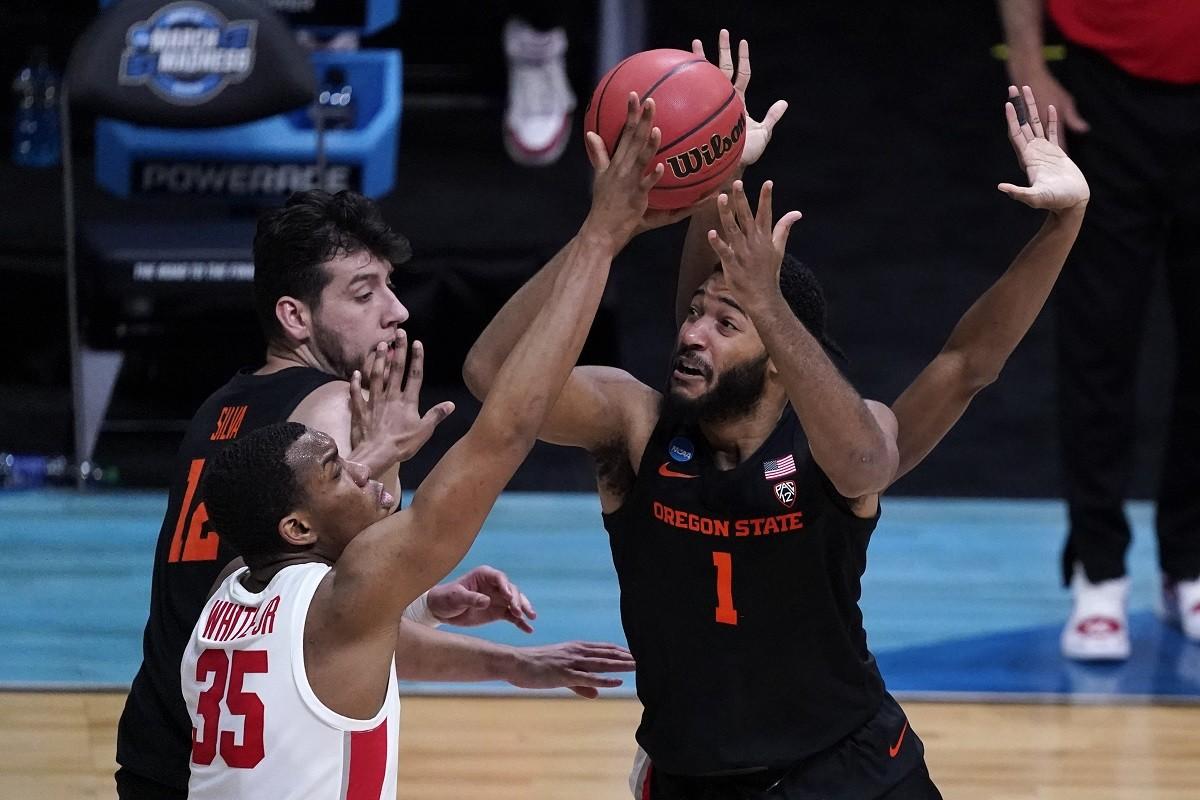 Maurice Calloo Oregon State Beavers bad beat Elite 8 Houston March Madness