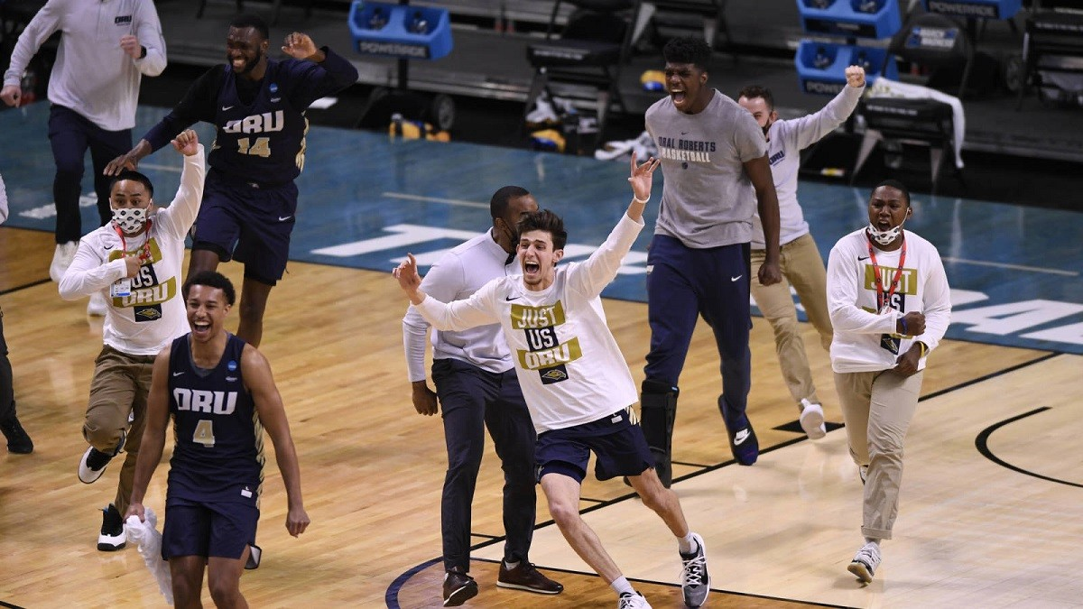 Oral Roberts #15 seed Upset 15 Florida March Madness Sweet 16