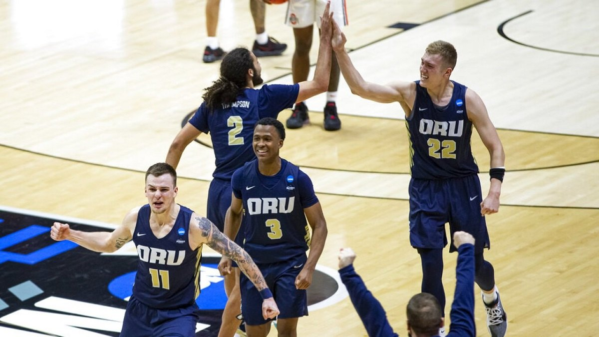 Oral Roberts Upsets # 15 Seed March Madness Ohio State