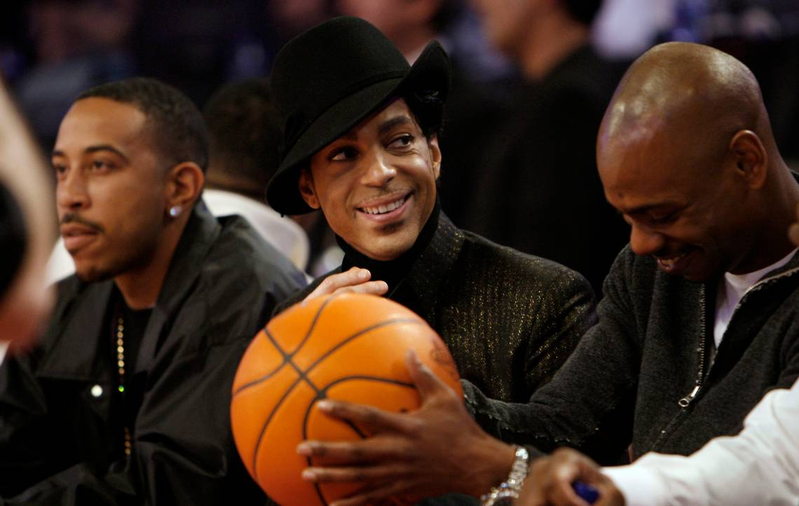Prince basketball pick-up Charlie Murphy Eddie David Chappelle Show