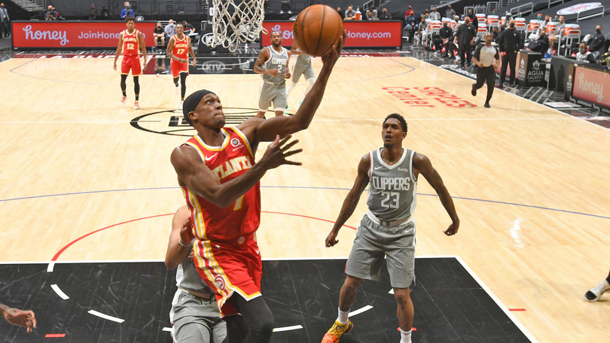 Rajon Rondo Lou Williams trade LA Clippers Atlanta Hawks