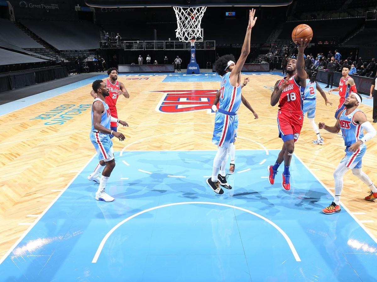 Brooklyn Nets Philadelphia 76ers Shake Milton Atlantic Division Race Pacific Southwest Southeast Odds